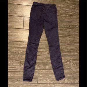 Anthropologie Jeans - Anthropologie Pilcro Serif Mid-Rise Jacquard Jeans